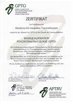 Zertifikat Basisqualifikation